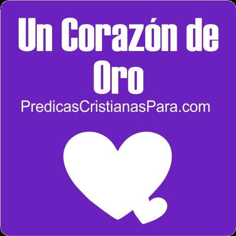corazon de oro del cristiano