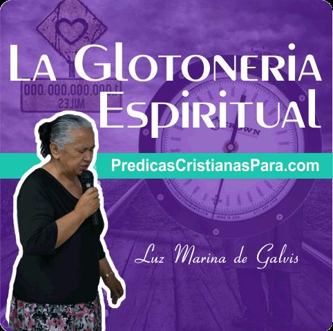 La glotonería Espiritual