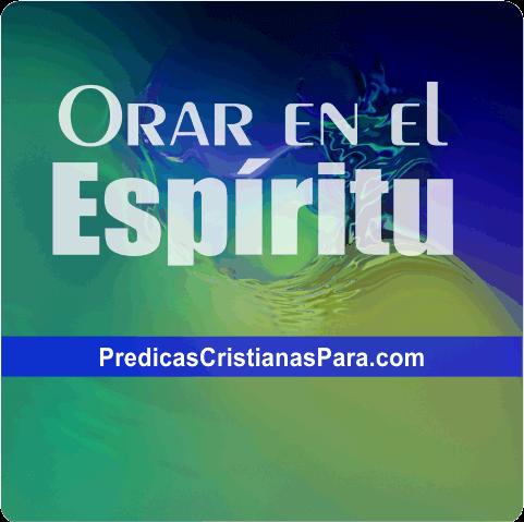 portada de la entrada como orar en el espiritu